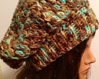 Slouchy Crocheted Beret