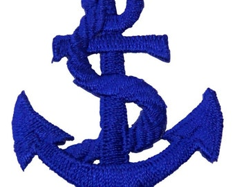 Blue Anchor Patch X American Deadstock Patches