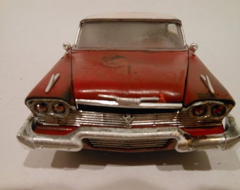Rusted Wreck, Classicwrecks, Scale Model, Red Plymouth, Christine Car,Rat Rod