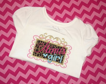 Mimi's Girl Embroidered Shirt