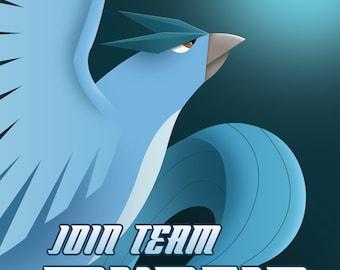 Team Mystic Propaganda Poster