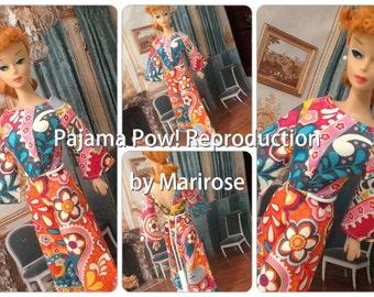 Pajama Pow! PDF Barbie pattern by Marirose!