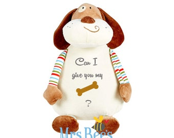 Risqué Dog Soft Toy - Ideal plushie gift for Valentine's