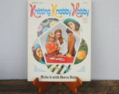 Vintage Knitting Knobby Hobby Book No. 17570 Make it with Horse Reins