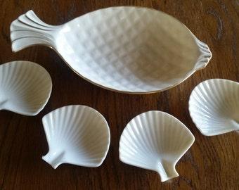 Lenox Shell Dish Etsy