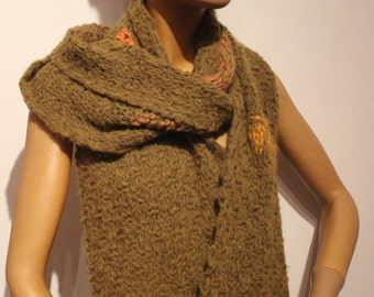 Strickschal , scarf