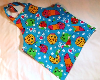 Shopkins apron for little girls.