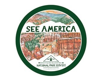 See America Sticker