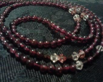 Garnet Waist Beads (1 Pair) Sizes 25 - 36.5