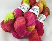 Daiquiri: Superwash Strong Heart Hand Painted Sock Yarn