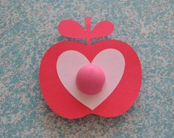 Heart Apple EOS Valentine's Day Card