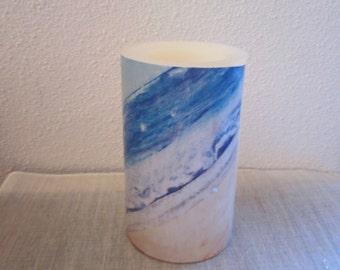 Beach Flameless Candle