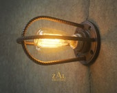 Rebar Sconce. Wall Light. Ceiling Light. Industrial.Steampunk.