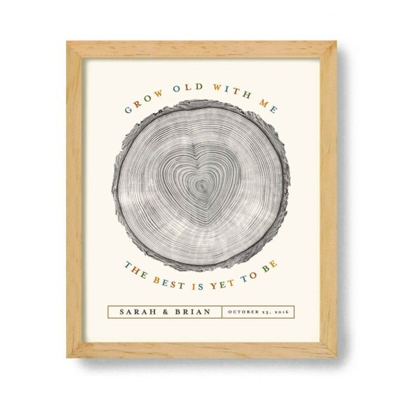 Wedding Gift Ideas For Nature Lovers : Wedding Gift for Nature Lover Tree Rings Loves the Outdoors ...