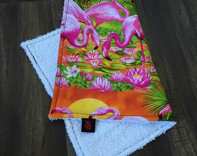 Flamingo Sweat Rag // Face Cloth // Hawaii //