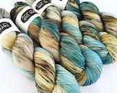 merino/nylon {sock} | QUARRY | ready to ship | hand dyed yarn | merino nylon