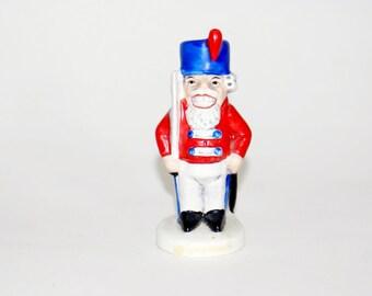 Goebel Nutcracker Figurine Hummel Sweet Germany 09 Vintage 13902 Soldier Christmas Issue West Signed Figure