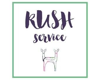 RUSH SERVICE Listing - 24 Hour Turnaround Time