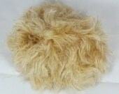 Doll wig Tutorial - Doll wig from mohair fabric, mohair plush, Pattern to sew a doll wig from mohair