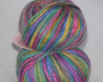 1x25g/0.88oz PURE  ANGORA Wool, Novangora, Worsted Yarn by Nova, Canada, #3837