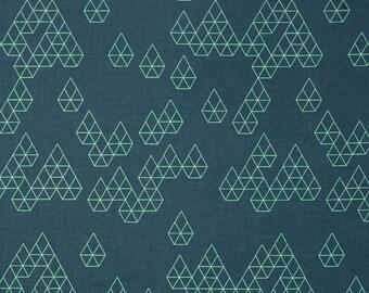 Cotton + Steel - Rashida Coleman Hale - Raindrop - Geo Drops Teal