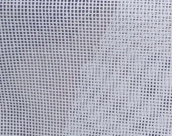 14ct white cotton aida,14ct big mesh cross stitch fabric,single warp and weft,14ct embroidery fabric