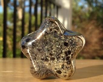 Little Space Star  - Art Glass Paperweight