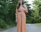 Vintage Peachy Dress/Nightgown