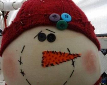 Snowman Fat Head
