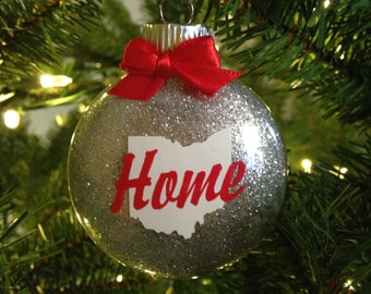 Ohio home ornament