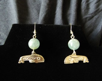 Aquamarine and Sterling Whales