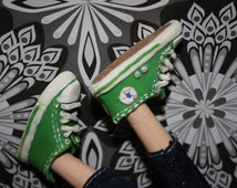 1:6 scale Doll sized shoes All stars | Miniature Converse inspired doll shoes