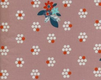 Fruit Dots - Fruit Blossoms in Pink - 0029-4 - Melody Miller for Cotton + Steel - HALF YARD