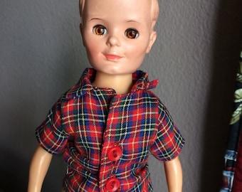 """Uneeda vintage 10"""" boy doll"""