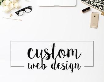 Full Custom Website & Ecommerce