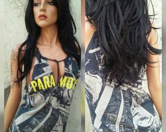 Paramore Shredded Band Shirt Tank Top