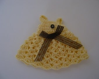 Blythe Dress in Yellow