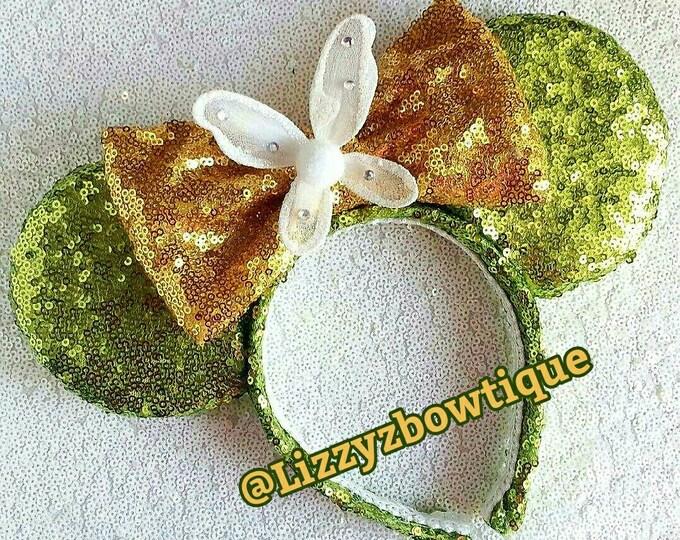 Tinker Bell Sequin Minnie ears
