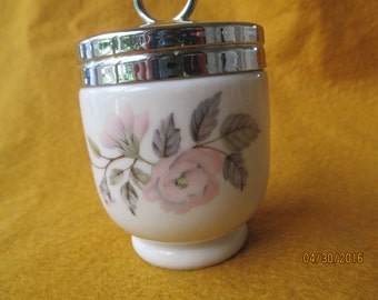 Royal Worcester June Garland Porcelain Egg Coddler