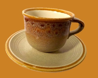 Mikasa Stoneware - Nature's Song - Cup and Saucer - 4 Available