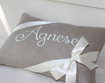 Personalized pillow cover, Baby Name pillow, personalized gift, baby shower, baby gift, Kids pillows, Girls pillow