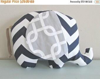 BACK 2 SCHOOL SALE Stuffed Elephant - Elephant - Stuffed Animal - Plush Toy - Baby Elephant