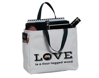 SALE Shipping Included - Pony Tote Carry All (Chrome)