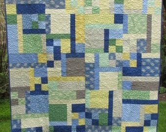 Audrey's KITCHEN TWIN Size QUILT Blanket Lap Comforter