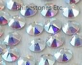 Crystal AB 16ss  Swarovski Elements Rhinestones Flat back 36 pieces