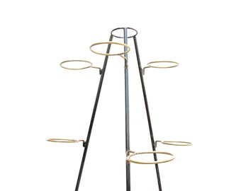Mid Century Tripod Plant Stand