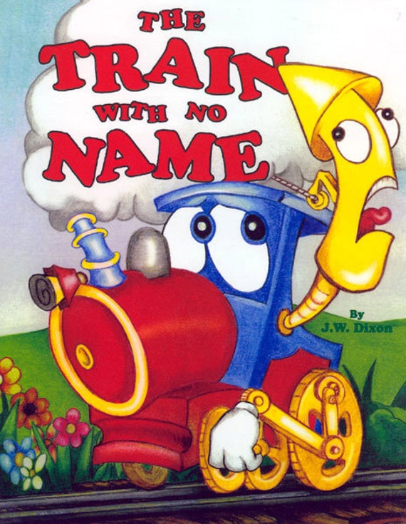 """CHILDREN""""S PERSONALIZED  Book The Train With No Name (Spanish) Printed and bound by us"""