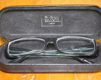 Vintage Authentic Alain Mikli Rx Glasses