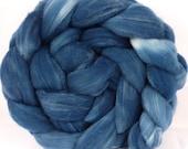 Indigo - Rambouillet/ Tussah Silk (75/25) -4.9 oz.