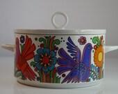 Large Acapulco Serving Bowl Vintage Villeroy Boch